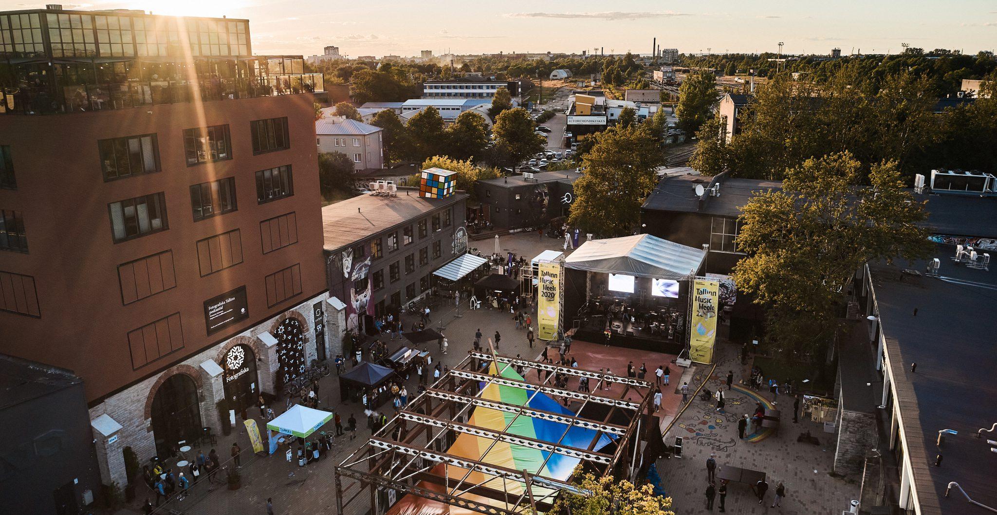 TMW 2020, Telliskivi Loomelinnak main square